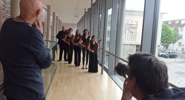 Nagelneue  Orchesterfotos